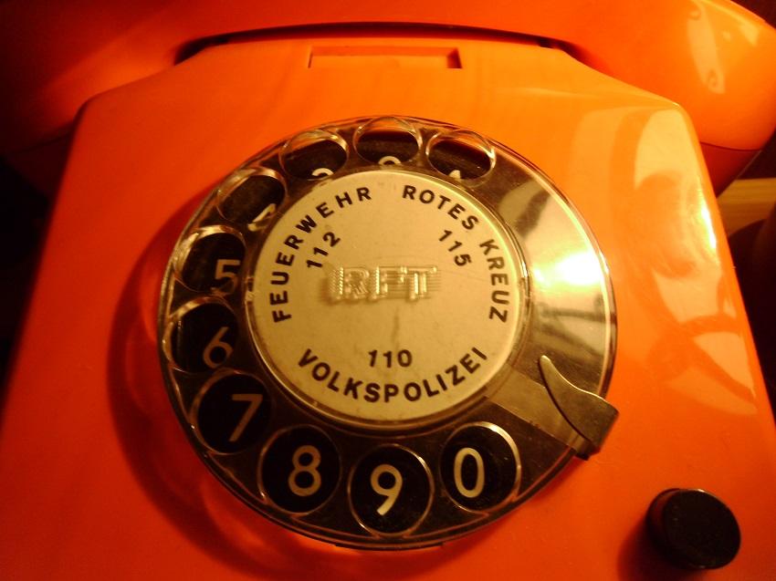 RFT Alpha 551 Nummernschalter